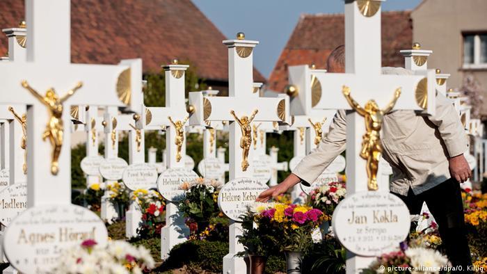 Кладбище в Лужице