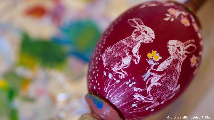 Пасхальное яйцо из Шпревальда