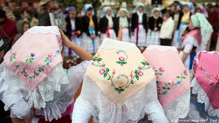 Пасхальные традиции лужицких сербов в Германии