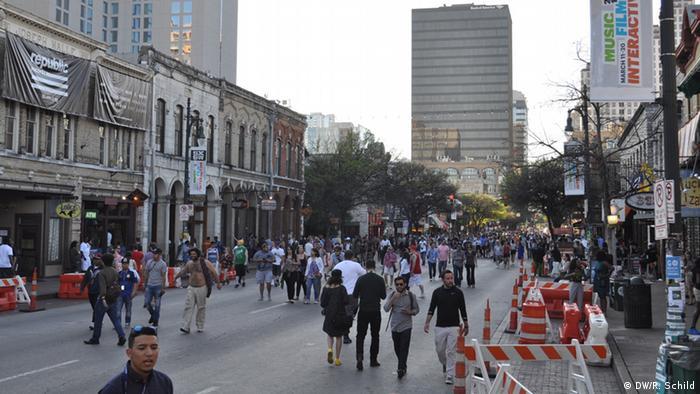 USA Austin Festival SXSW Impression 6th street