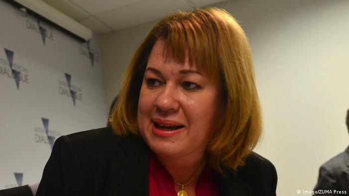 Liliana Ortega Direktorin der Menschenrechtsorganisation COFAVIC in Venezuela