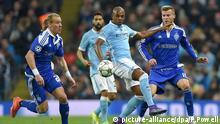 Manchester City Dynamo Kiev Fußball Champions League