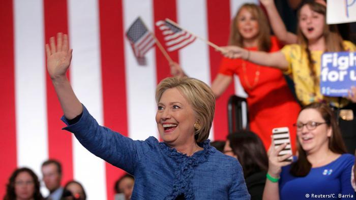 Хиллари Клинтон на праймериз