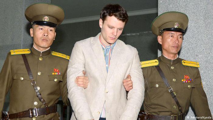 Nordkorea US-Student Otto Warmbier zu 15 Jahren Arbeitslager verurteilt