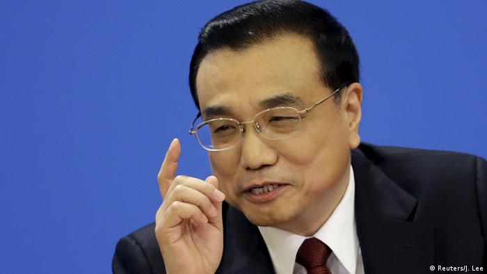 China Regierungs-PK Li Keqiang (Reuters/J. Lee)