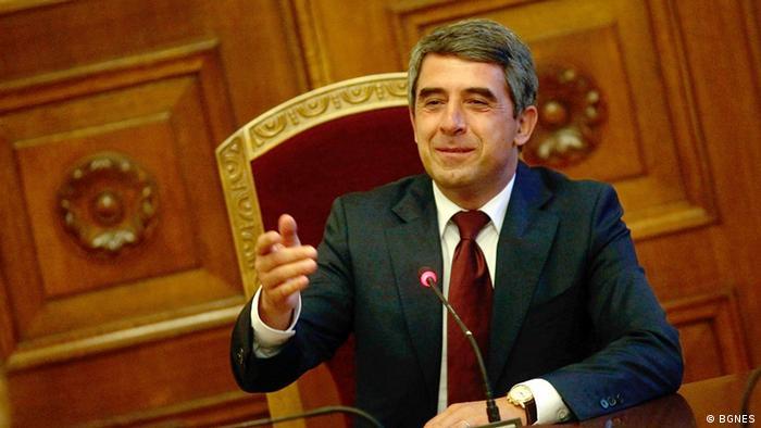 Българският президент Росен Плевнелиев