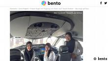 Screenshot bento Royal Brunei Airlines weibliche Piloten