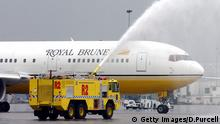 Royal Brunei Airlines Flugzeug
