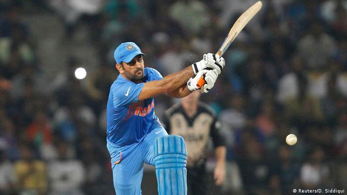 Indien Cricket World Twenty20 Neuseeland vs Indien Mahendra Singh Dhoni (Reuters/D. Siddiqui)