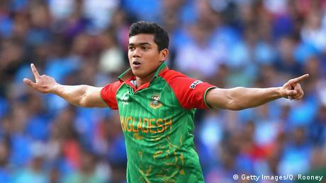 Bangladesch Taskin Ahmed Cricket Spieler (Getty Images/Q. Rooney)