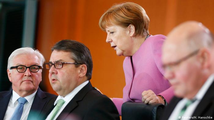 Deutschland Kabinettssitzung in Berlin