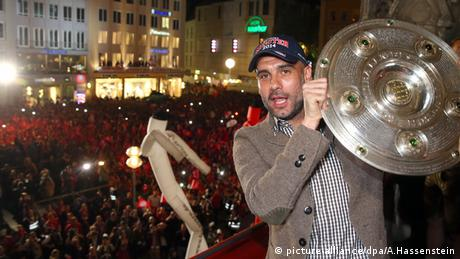Pep Guardiola FC Bayern München Deutschland Meisterschaft