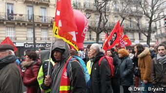 Frankreich Proteste gegen Arbeitsmarktreform