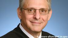 USA Merrick Garland Kandidat für Richter im Obersten Gerichtshof