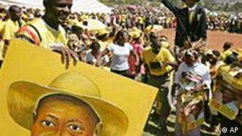 Wahlen in Uganda Yoweri Museveni