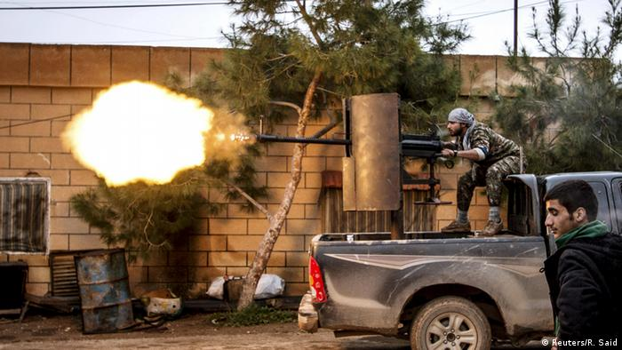 Syrien YPG Kämpfer