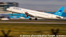 Russland Flugzeug Kogalymavia's Airbus A321