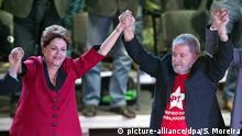 Brasilien Sao Paula PT Parteitag Dilma Rousseff Luiz Inacio Lula