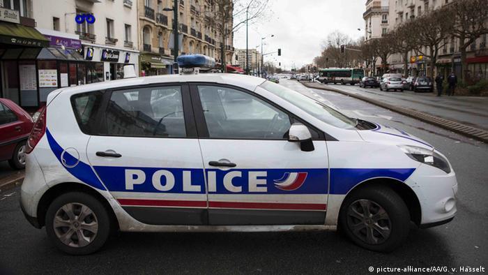 Frankreich Paris Polizeiauto Polizei