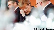 Angela Merkel mit Sigmar Gabriel und Peter Altmeier