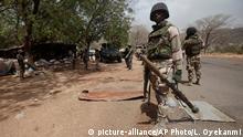 Nigeria Soldat