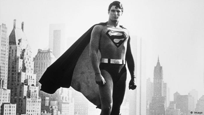 Кристофер Рив в роли Супермена