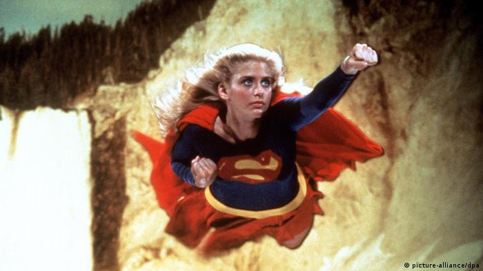 Хелен Слэйтор в роли Супергёрл (1984)