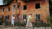 Ukraine Donezk Ruinen