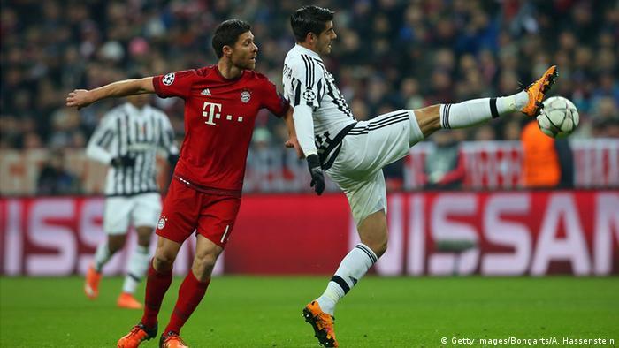 Champions League Bayern München vs Juventus Turin Xabi Alonso