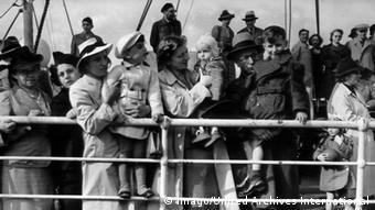 Southampton 1939 Jüdische Flüchtlinge MS Rakotis