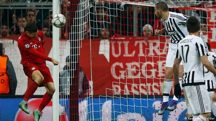 Champions League Bayern München Juventus Tor Lewandowski (Reuters/M. Dalder)