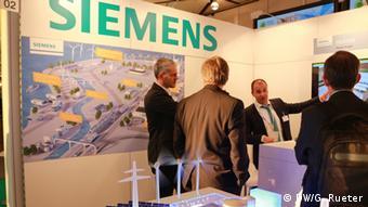 Messestand von Siemens