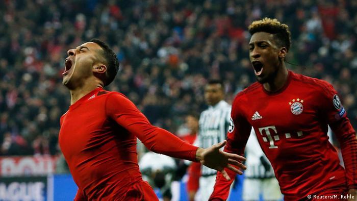 Champions League Bayern München Juventus Thiago