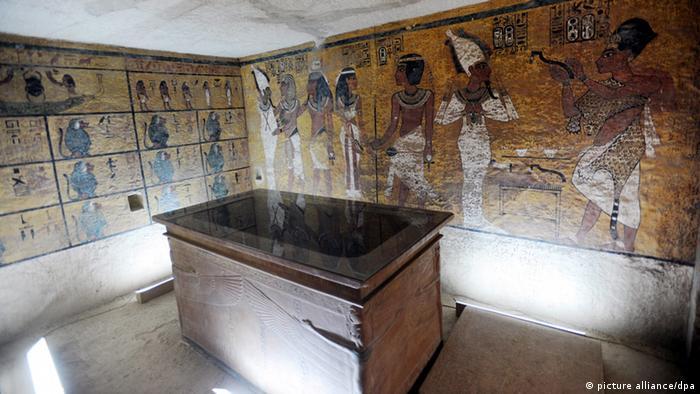 Ägypten Grabanlage von König Tutanchamun