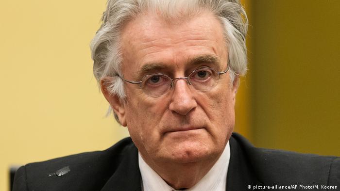 Radovan Karadzic Porträt