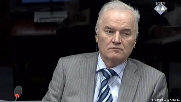 Ratko Mladic Porträt (picture-alliance/dpa)