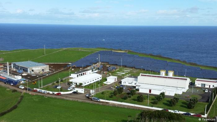 Younicos Energieerzeugungssystem auf Graciosa (Younicos)