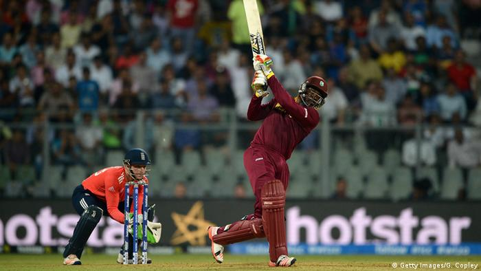 Indien World T20 cricket tournament - Team Westindische Inseln - Chris Gayle