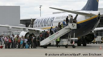 Airline Ryanair, Copyright: picture-alliance/dpa/F. von Erichsen