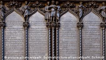 Οι 95 θέσεις του Λούθηρου στην είσοδο του Καθεδρικού Ναού της Βιτεμβέργης