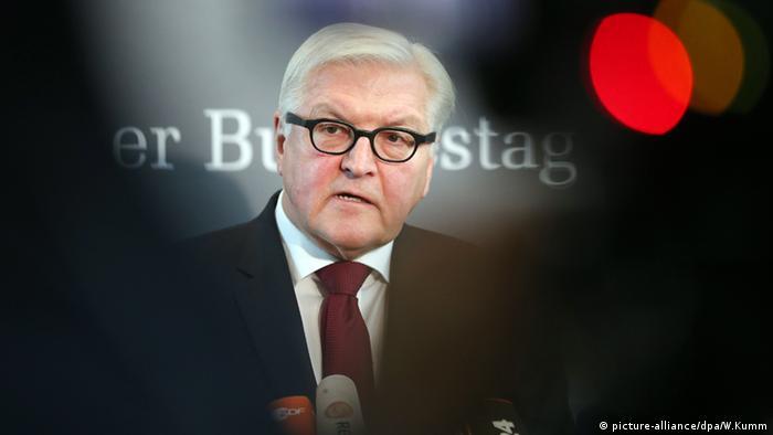 Міністр закордонних справ ФРН Франк-Вальтер Штайнмаєр