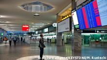 Schweiz Flughafen Zürich