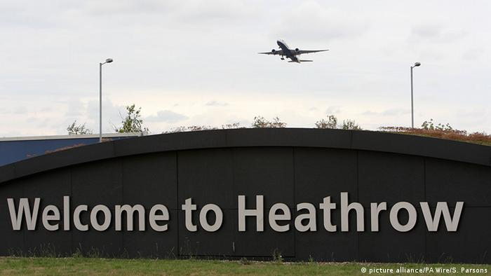 Großbritannien Flughafen Heathrow (picture alliance/PA Wire/S. Parsons)