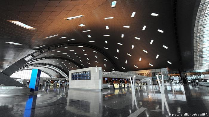 مطار حمد في قطر