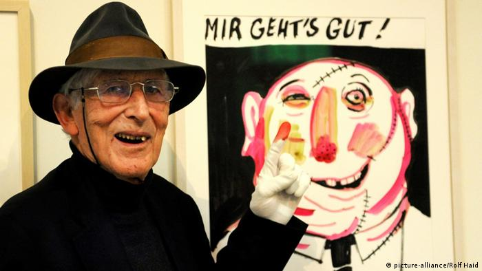 Tomi Ungerer (picture-alliance/Rolf Haid)