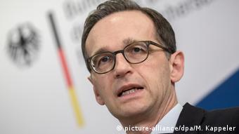 Germany's Justice Minister Heiko Maas
