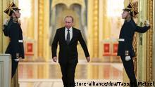 Russland Präsident Wladimir Putin - Auszeichnung im Kreml