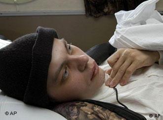 Andrej Sytschow wurde in der Armee zum Invaliden