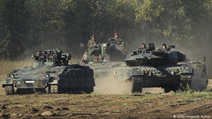 Symbolbild - Panzerbataillon