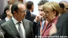 Brüssel - Holland und Merkel auf dem EU Gipfel